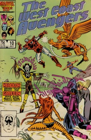 West Coast Avengers # 10 Issues V2 (1985 - 1989)