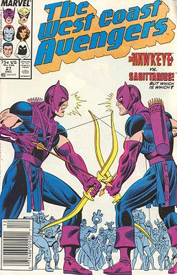 West Coast Avengers # 27 Issues V2 (1985 - 1989)