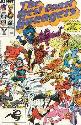 West Coast Avengers # 28 Issues V2 (1985 - 1989)