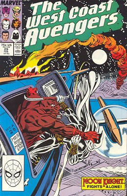 West Coast Avengers # 29 Issues V2 (1985 - 1989)
