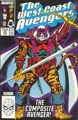 West Coast Avengers # 30 Issues V2 (1985 - 1989)