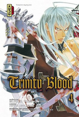 couverture, jaquette Trinity Blood 4  (kana)
