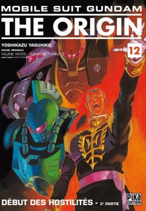 couverture, jaquette Mobile Suit Gundam - The Origin 12  (Pika)