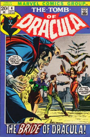 Le tombeau de Dracula # 4 Issues (1972 - 1980)
