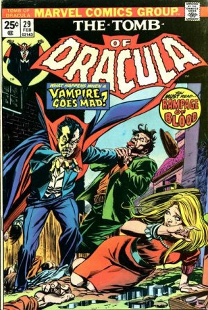 Le tombeau de Dracula # 29 Issues (1972 - 1980)