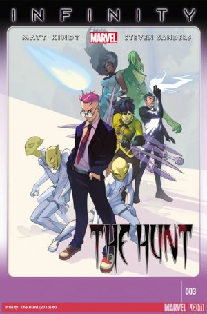 Infinity - The hunt # 3 Issues