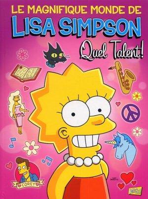 Le magnifique monde de Lisa Simpson édition TPB hardcover (cartonnée)