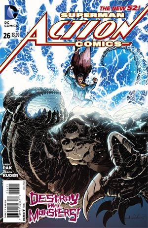 Action Comics # 26 Issues V2 (2011 - 2016)