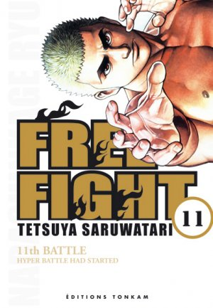 couverture, jaquette Free Fight - New Tough 11  (Tonkam)