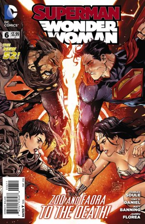 Superman / Wonder Woman # 6 Issues