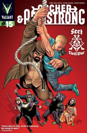Archer and Armstrong # 15 Issues V2 (2012 - 2014)