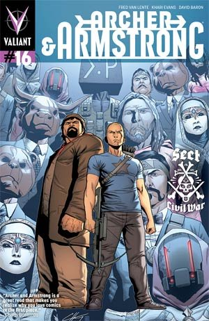 Archer and Armstrong # 16 Issues V2 (2012 - 2014)
