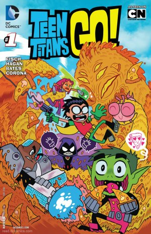 Teen Titans Go ! # 1 Issues V2 (2014 - Ongoing)