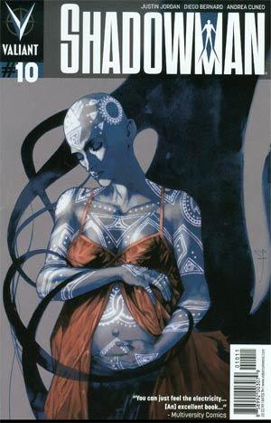 Shadowman # 10 Issues V3 (2012 - 2014)