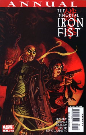 The Immortal Iron Fist édition Annual (2007)