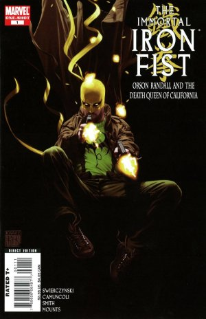 The Immortal Iron Fist - Orson Randall and The Death Queen of California édition Issue (2008)