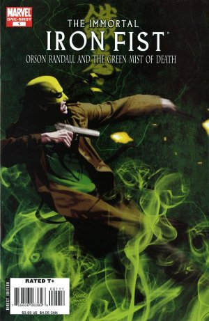 The Immortal Iron Fist - Orson Randall and The Green Mist of Death édition Issue (2008)