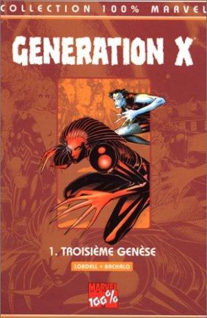 Génération X édition TPB softcover (souple)