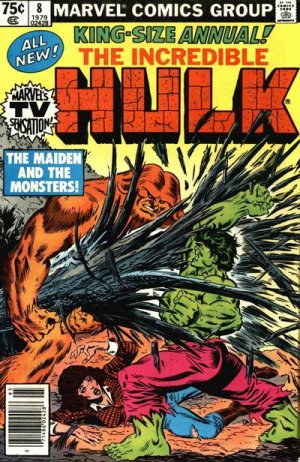 The Incredible Hulk # 8 Issues V1 - Annuals (1976 - 1997)