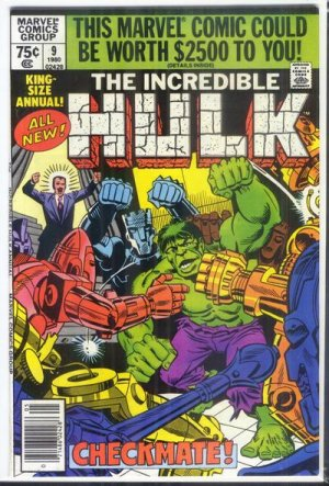 The Incredible Hulk # 9 Issues V1 - Annuals (1976 - 1997)