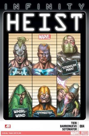 Infinity - Heist # 4 Issues (2013 - 2014)