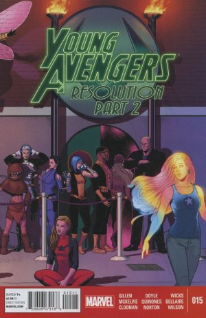 Young Avengers # 15 Issues V2 (2013 - 2014)