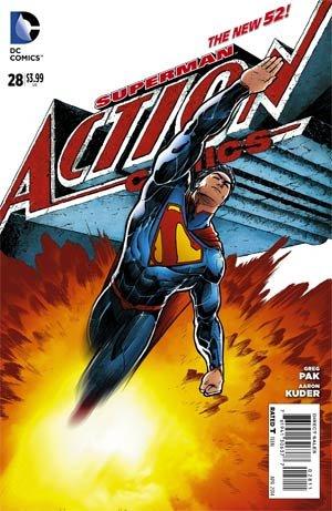 Action Comics # 28 Issues V2 (2011 - 2016)