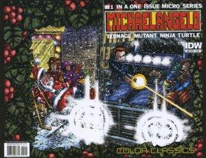 Teenage Mutant Ninja Turtles Color Classics - Michaelangelo Micro-Series # 1 Issues
