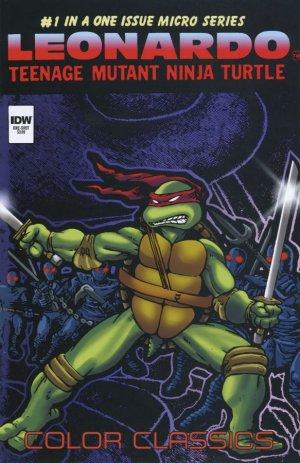Teenage Mutant Ninja Turtles Color Classics - Leonardo Micro-Series # 1 Issues