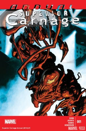 Superior Carnage édition Issue V1 - Annual (2014)