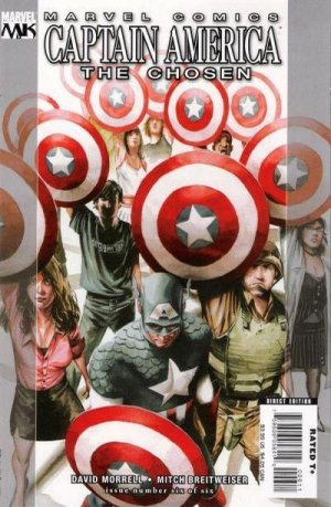 Captain America - The Chosen # 6 Issues