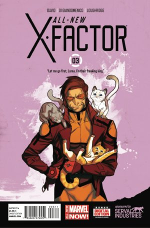 All-New X-Factor # 3 Issues (2014 - 2015)