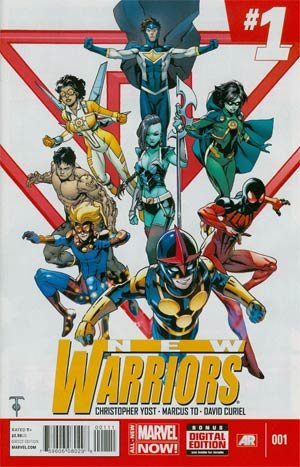 The New Warriors édition Issues V5 (2014 - 2015)