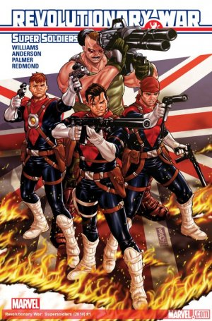 Revolutionary War - Super Soldiers # 1 Issues (2014)