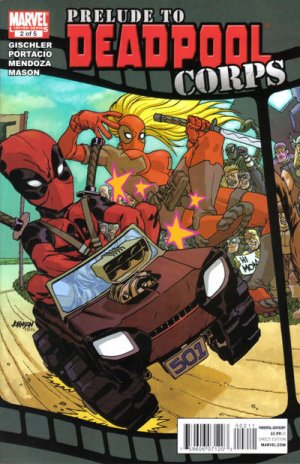 Deadpool Corps - Prélude # 2 Issues (2010)