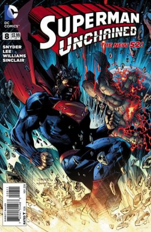 Superman Unchained # 8