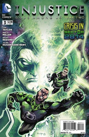 Injustice - Gods Among Us Year two # 3 Issues