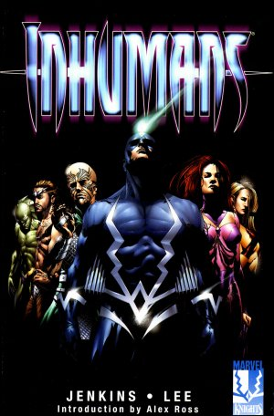 Inhumains édition TPB hardcover (cartonnée)
