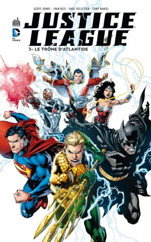 Justice League # 3 TPB hardcover (cartonnée)