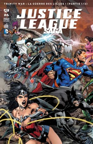 Justice League # 6 Kiosque mensuel