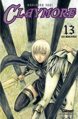 couverture, jaquette Claymore 13  (Glénat Manga)