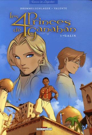 Les 4 princes de Ganahan
