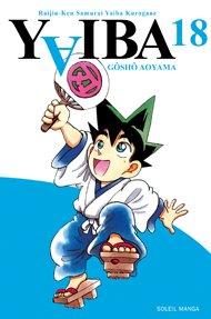 couverture, jaquette Yaiba 18  (soleil manga)