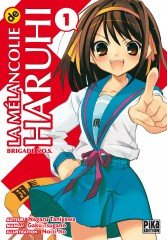 La Mélancolie de Haruhi Suzumiya T.1