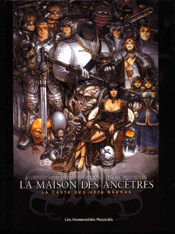 La caste des Méta-Barons -     La maison des ancêtres