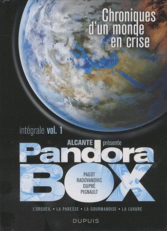 Pandora box # 1 intégrale