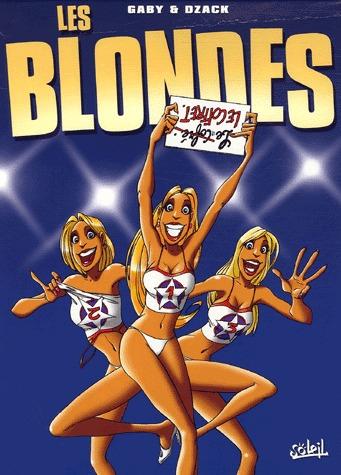 Les blondes 1 - Coffret en 3 volumes : Tomes 1 à 3
