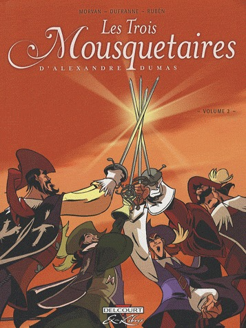 Les Trois Mousquetaires, d'Alexandre Dumas # 2 simple