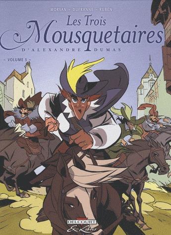 Les Trois Mousquetaires, d'Alexandre Dumas # 3 simple