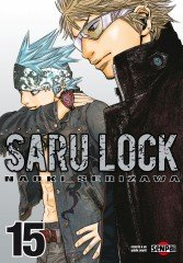 couverture, jaquette Saru Lock 15  (Pika) Manga